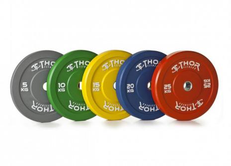 Bumper vikter färgade (50 mm Ø)
