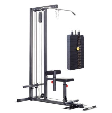 Lats-/roddhiss kombi, 95 kg