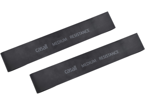 Rubberband Casall medium 2pcs - Black