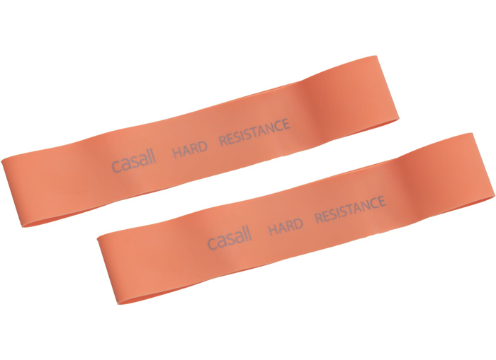 Rubberband Casall hard 2pcs - Orange