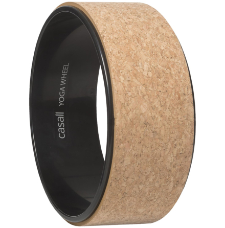 Yoga Wheel - Natural cork/black, Casall