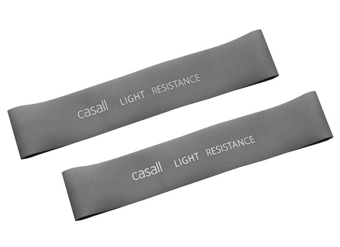 Rubberband Casall light 2pcs - Light grey