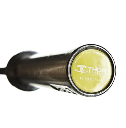 Int. Women's Olympic DK Black, 201 cm, 25 mm grepp